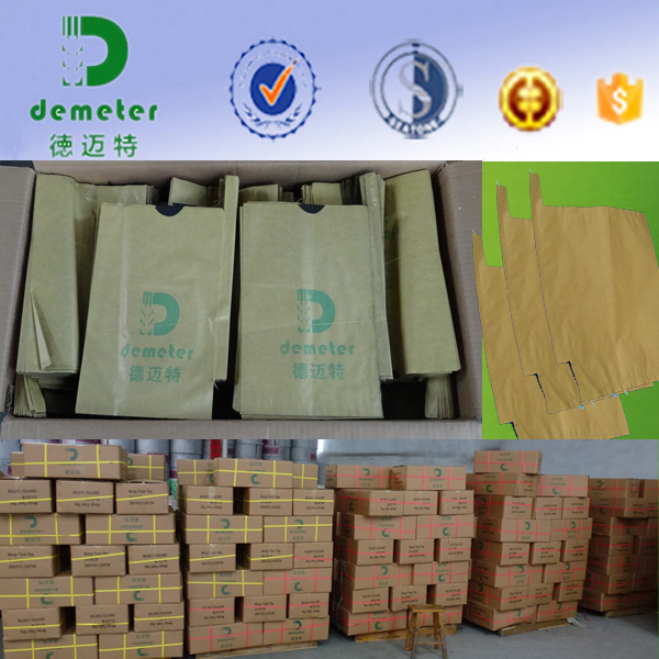 Anti-UV Water-Proof Fruit Protective Paper Bag Made of High Grade Composite Paper or All-Wood Pulp Paper