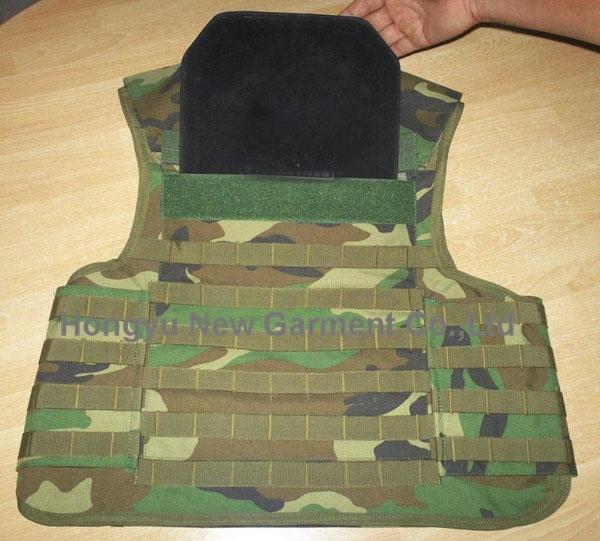 Bulletproof Vest/Anti-Bullet Jacket/Bullet Proof Body Armor (HY-BA015)