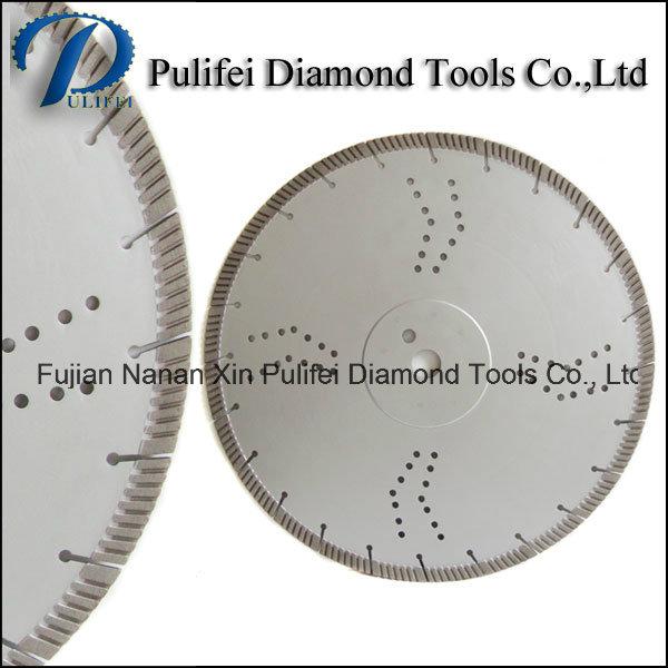 Hot Press Turbo Segment Disc General Cutting Stone Concrete Brick Diamond Disc