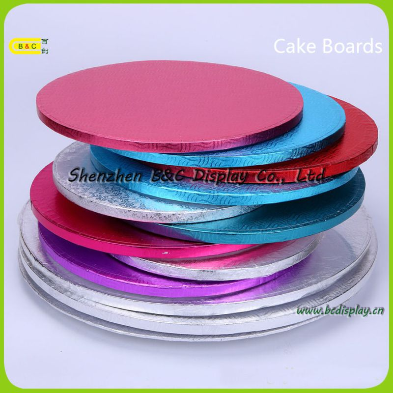 Square Cake Base Tray for Cake Shops, Cake Drums, Black Cake Boards with FDA (B&C-K079)