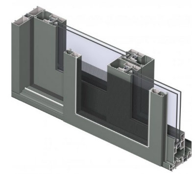 Hidden Rollers Sliding Aluminium Windows and Doors