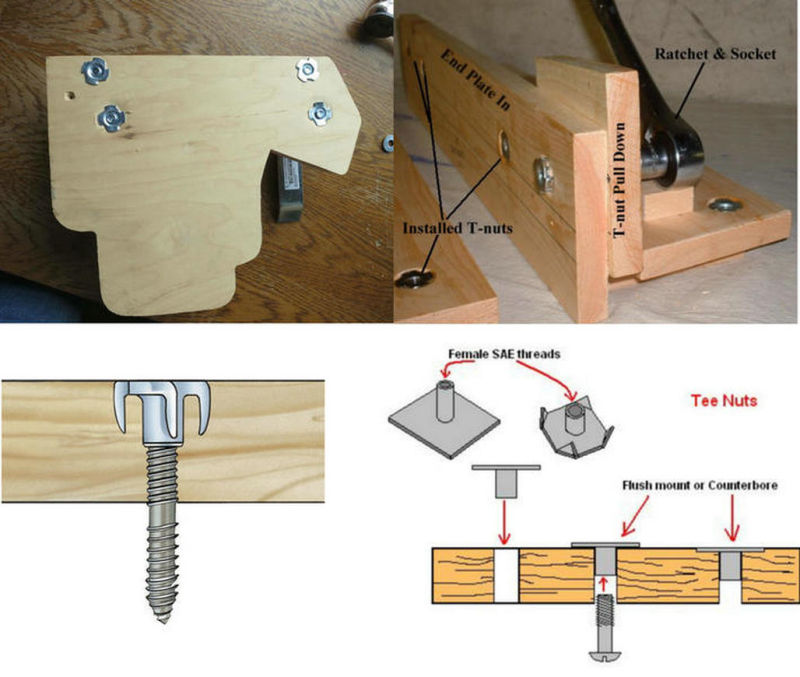 T-Nut for Building, Furniture