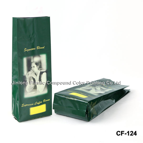 Quad-Seal Coffee Packaging Bags