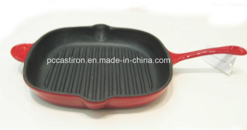 LFGB Approved Cast Iron Skillet OEM Factory China Dia 31cm