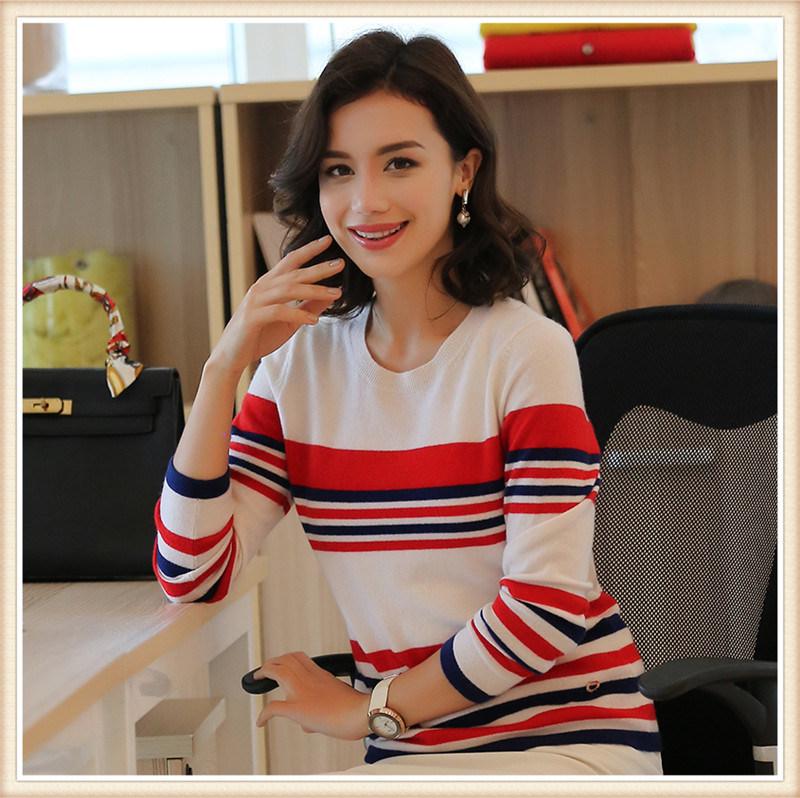 Pure 100% Cashmere/Wool Shorts Women's Sweater