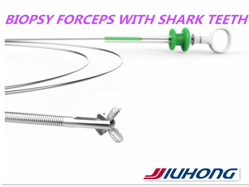 Disposable Biopsy Forceps with Alligator Teeth Jaws