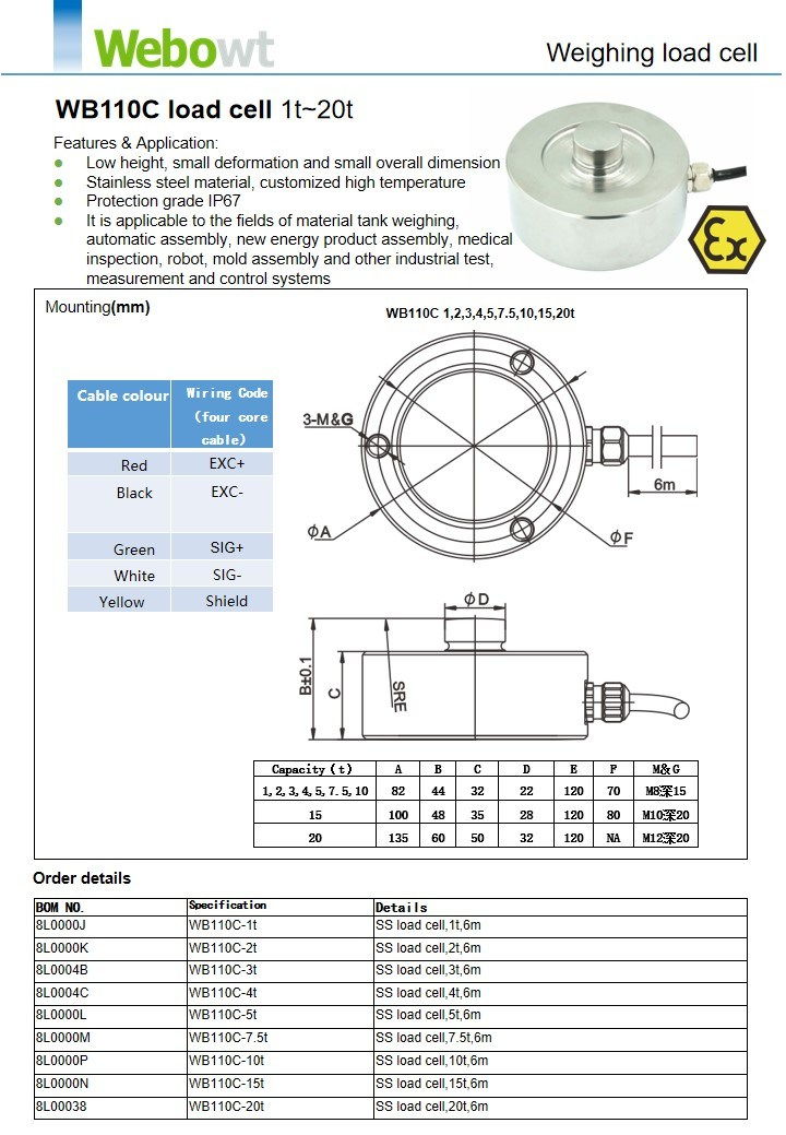 Scale Weighing Load Cell