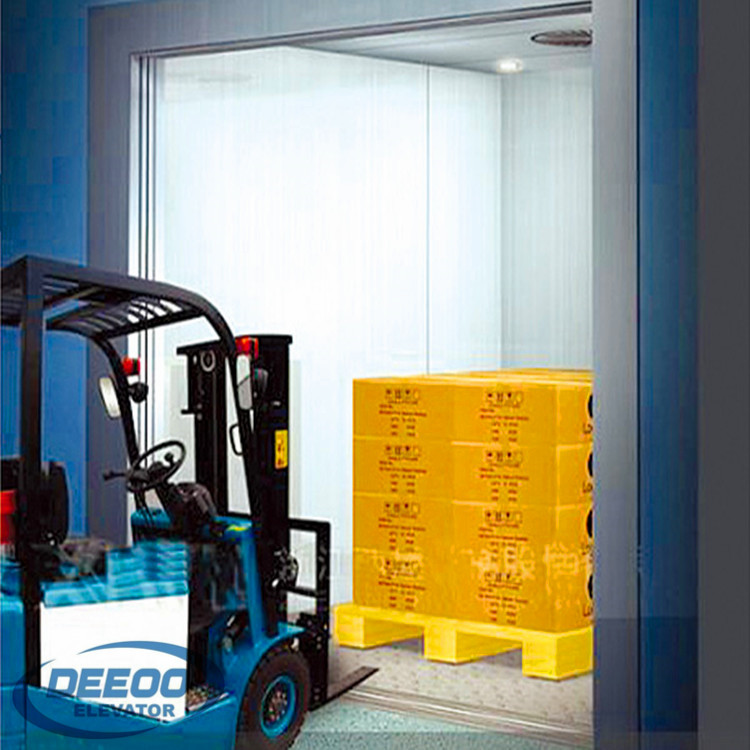 Lift Factory Warehouse Cargo Weight Freight Transportation Elevator
