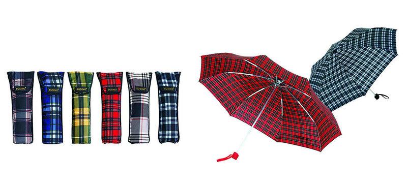 Check Compact Automatic Umbrellas (YS-3FA22083425R)