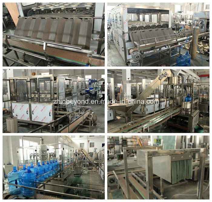 Automatic 5gallon Filling Line with 1200bph Capacity