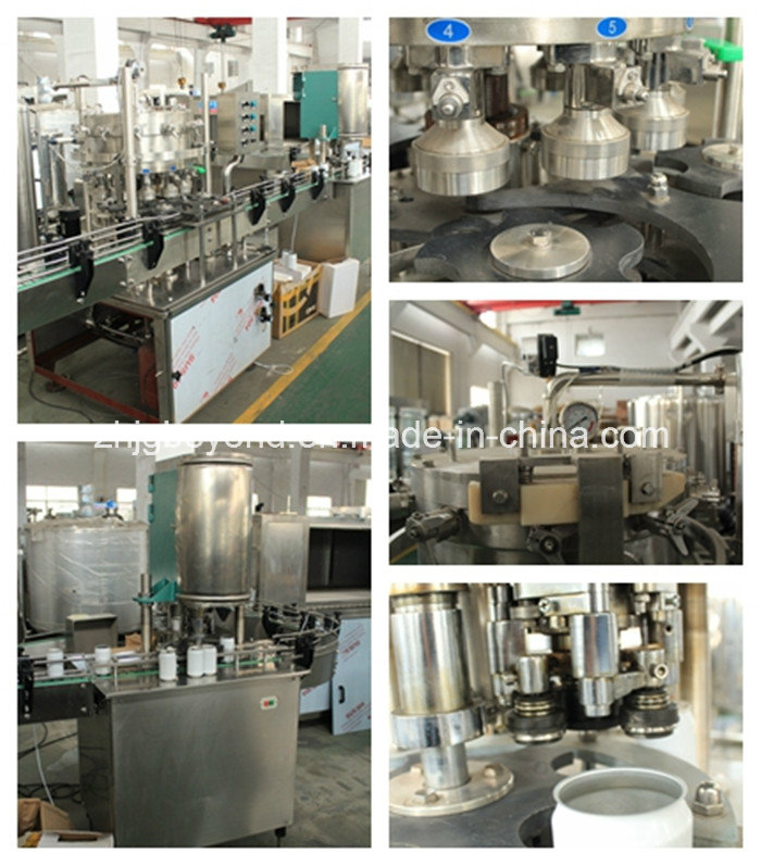 PLC Control Auto Can Filling Machine for Juice or Water