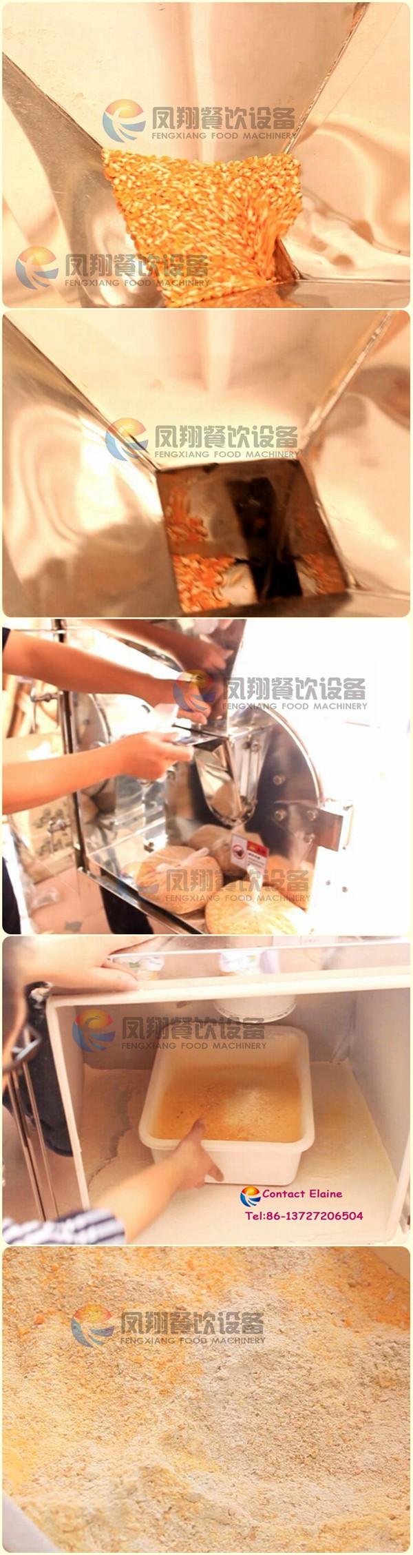 Industrial Wheat Flour Chili Powder Grinder Machine Good Prices