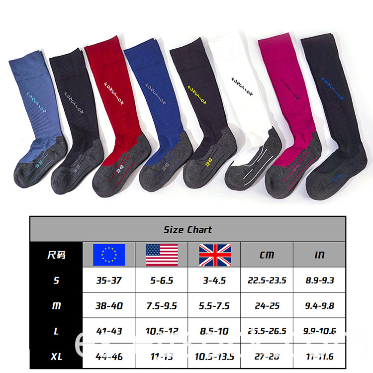 custom knee height socks