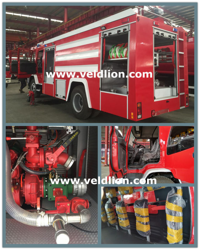 3, 000 Litres or 800 Gallon Fire Fighting Trucks