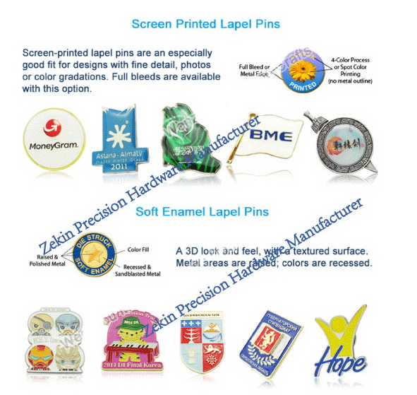 Promotional Gifts Wholesale Custom Silver Enamel Pins