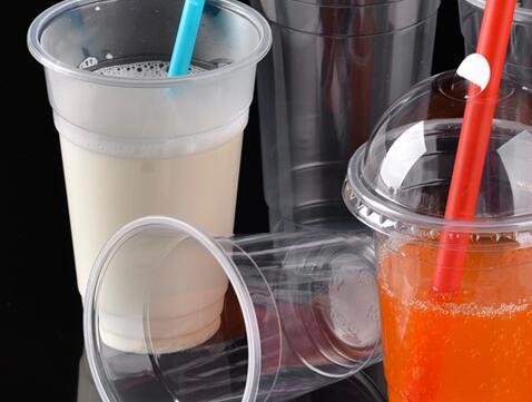 Disposable Milkshake PP Plastic Cups