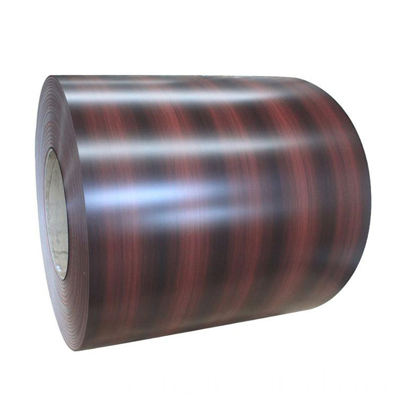 flower painted galvanized steel coil