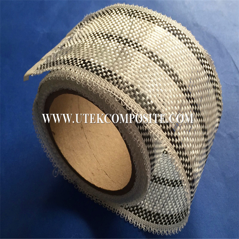 200G/M2 Carbon Fiberglass Hybrid Tape with 8cm Width for Surfboard