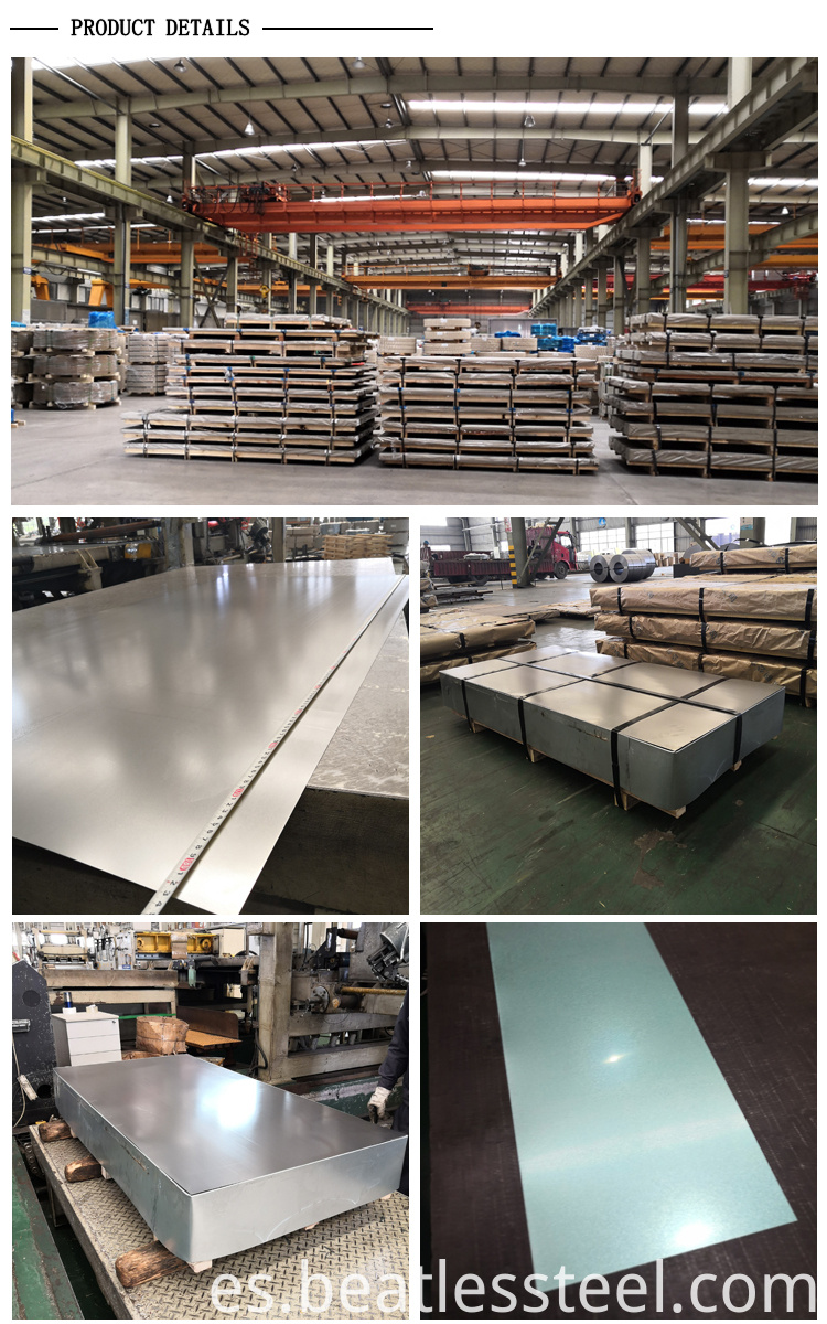high quality zinc aluminium sheet