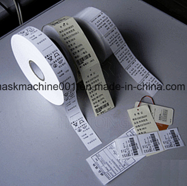 Ultrasonic Woven Label Slitting Machine