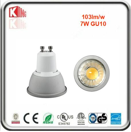 ETL 7W GU10 Dimmable LED Bulb