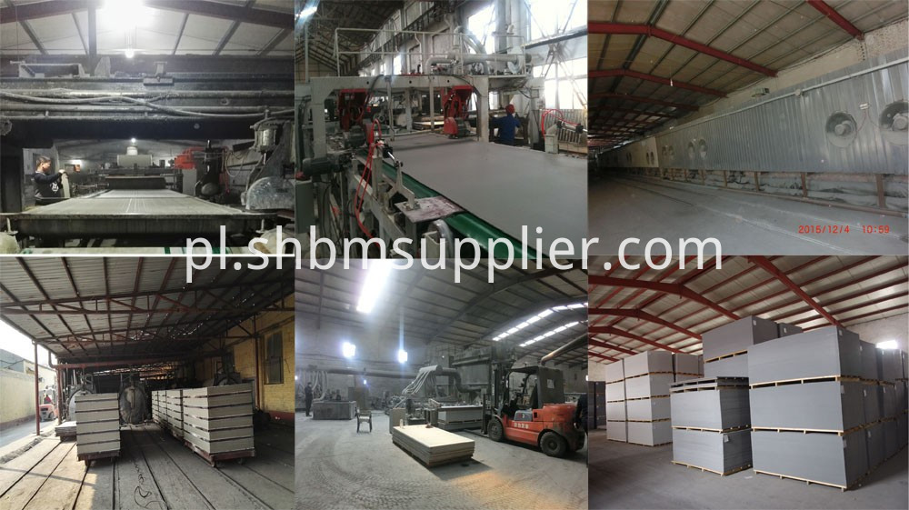 High Density Fireproof Grey 12mm Fiber Cement Board
