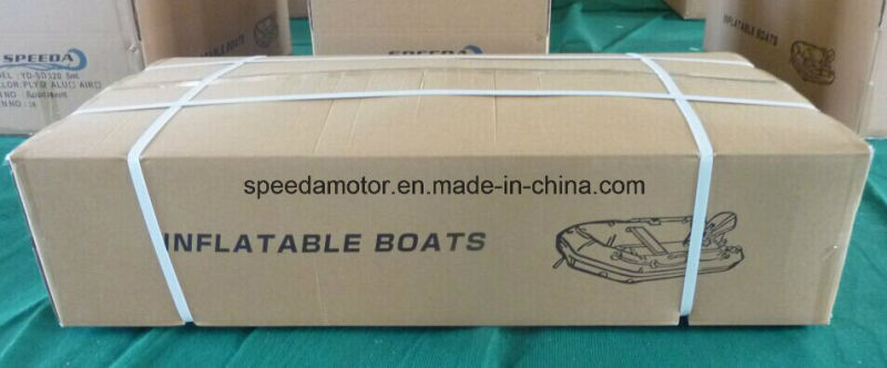 PVC Hull Material High Speed Aluminum Floor Inflatable Boat
