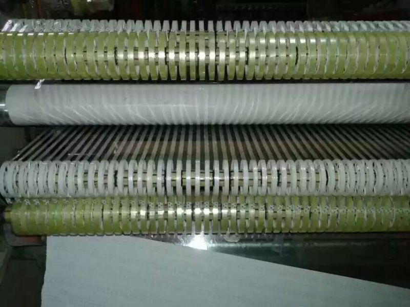 Four Shafts High Speed BOPP Jumbo Roll Slitter and Rewinder