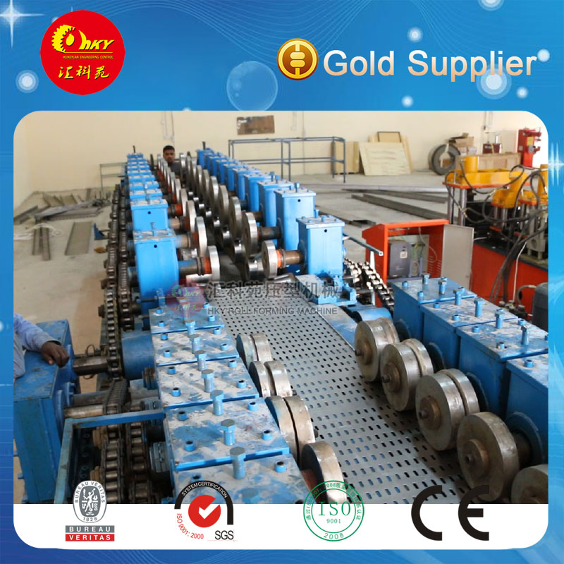 Hky Full Automatic Adjustable Metal Cable Tray Roll Forming Machine