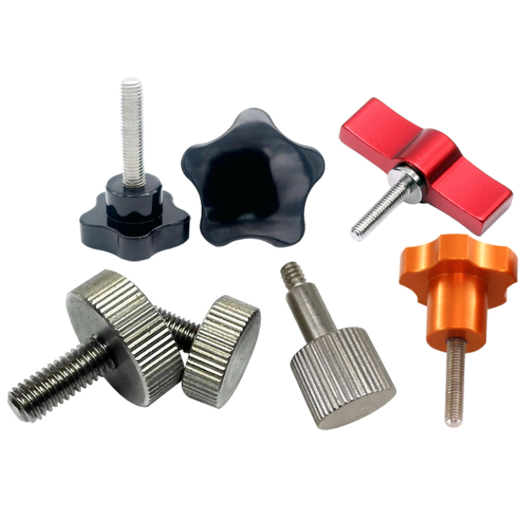 Plastic Head Thumb Screw for Adjustable Height