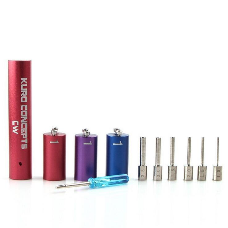 Kuro Koiler Universal Tools 6 in 1 Kits Coil Jig Coiler Winding Coiling Builder Heating Wire Wick Tool for DIY Rda Ecig