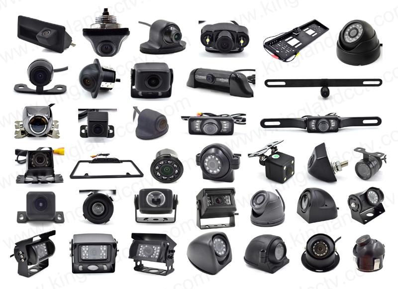 Mini Square Backup Camera with 9-36V