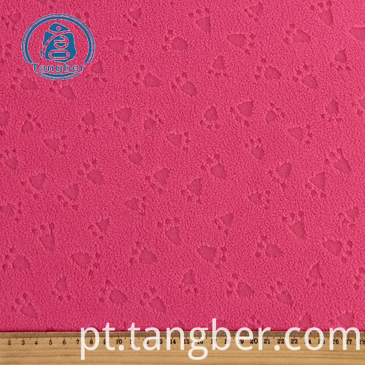 100 Polyester Fleece Fabric