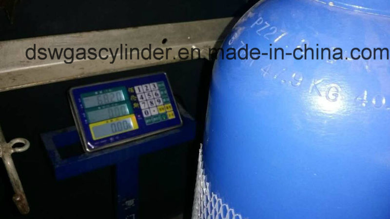 99.9% and 99.99% N2o Gas Filled in 40L Cylinder Gas with Qf-2 Valve