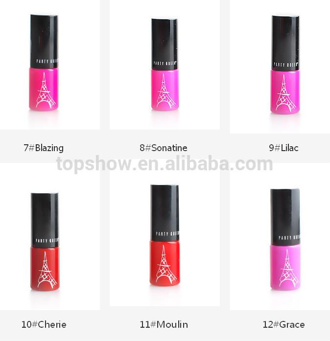 Kiss Beauty Cosmetic Charming Lip Color Lip Gloss, Lip Stick