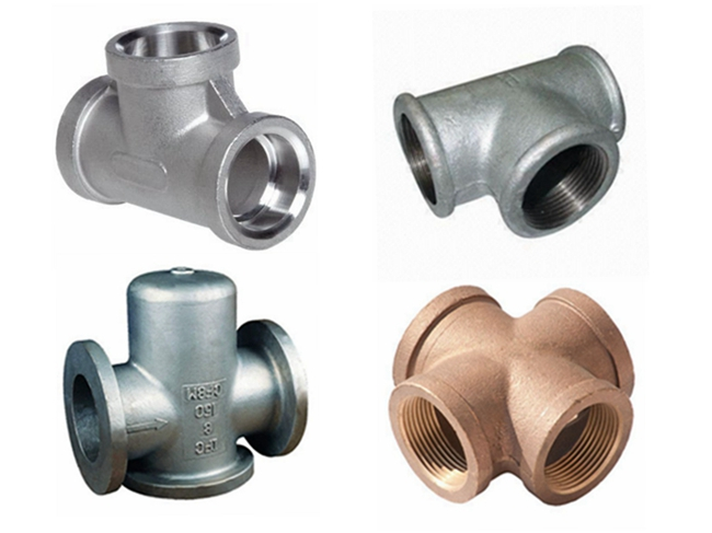 OEM Parts Metal Working Ductile Iron Pipe Fitting