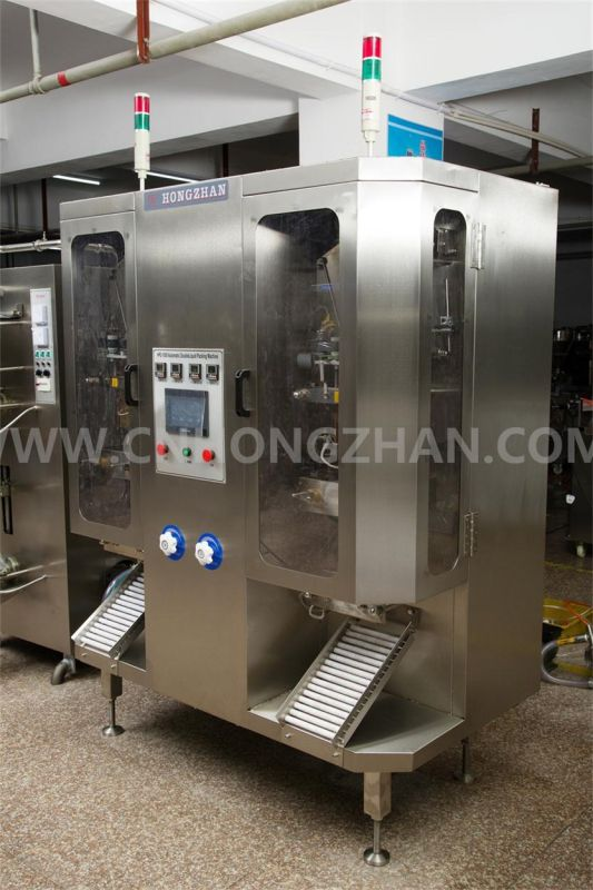 Hongzhan HP2-1000 Double Line Automatic Liquid Packing Machine