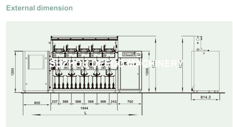 Single Spindle Controlling Winding Machine