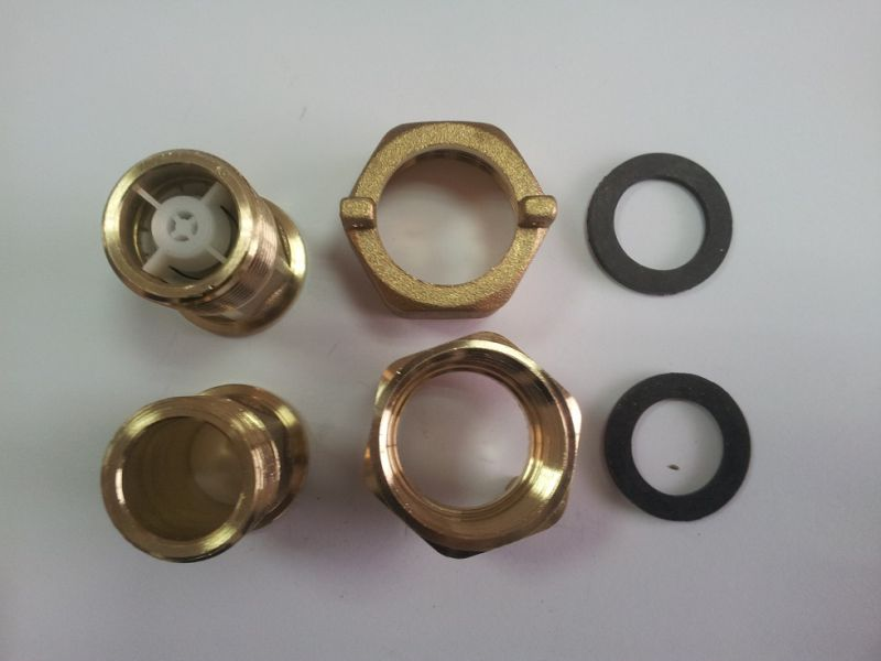 with Check Valves and Without Check Valveswater Meter Connector