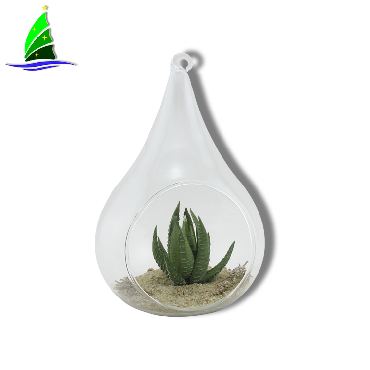 Ball Shape Hanging Glass Flower Vase