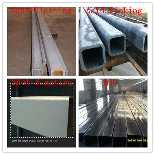 Mild Rectangular Steel Pipe