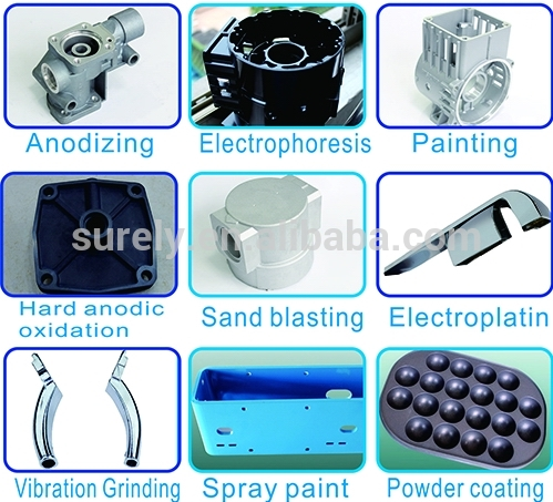 A380 Aluminum Die-Casting Products of Pneumatic Cylinder Parts