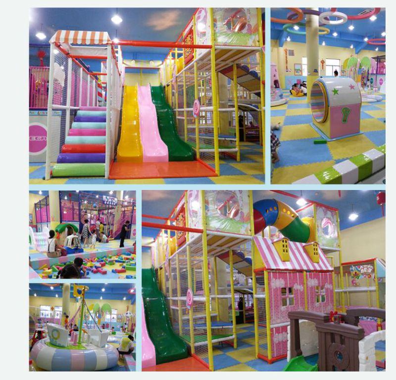Multifunctional New Design Kids Indoor Playground (KP-1220)