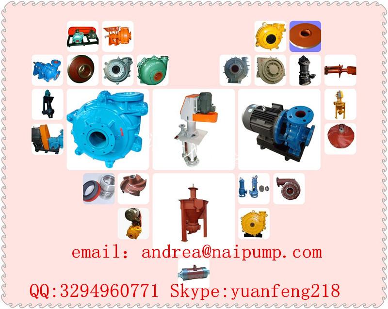 Mining Gravel Slurry Pump for Mine Industry Ore Dressing