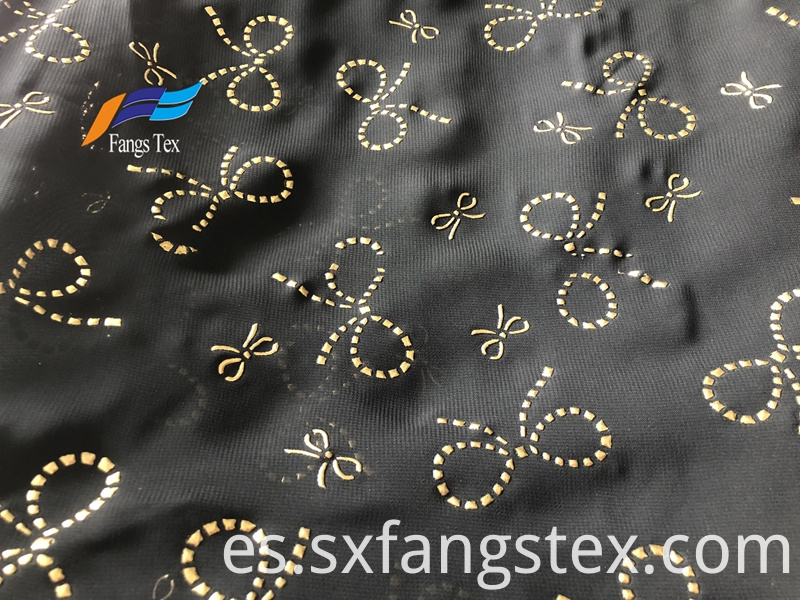 Islamic Muslim Polyester Dot Voile Chiffon Drop Fabric 4