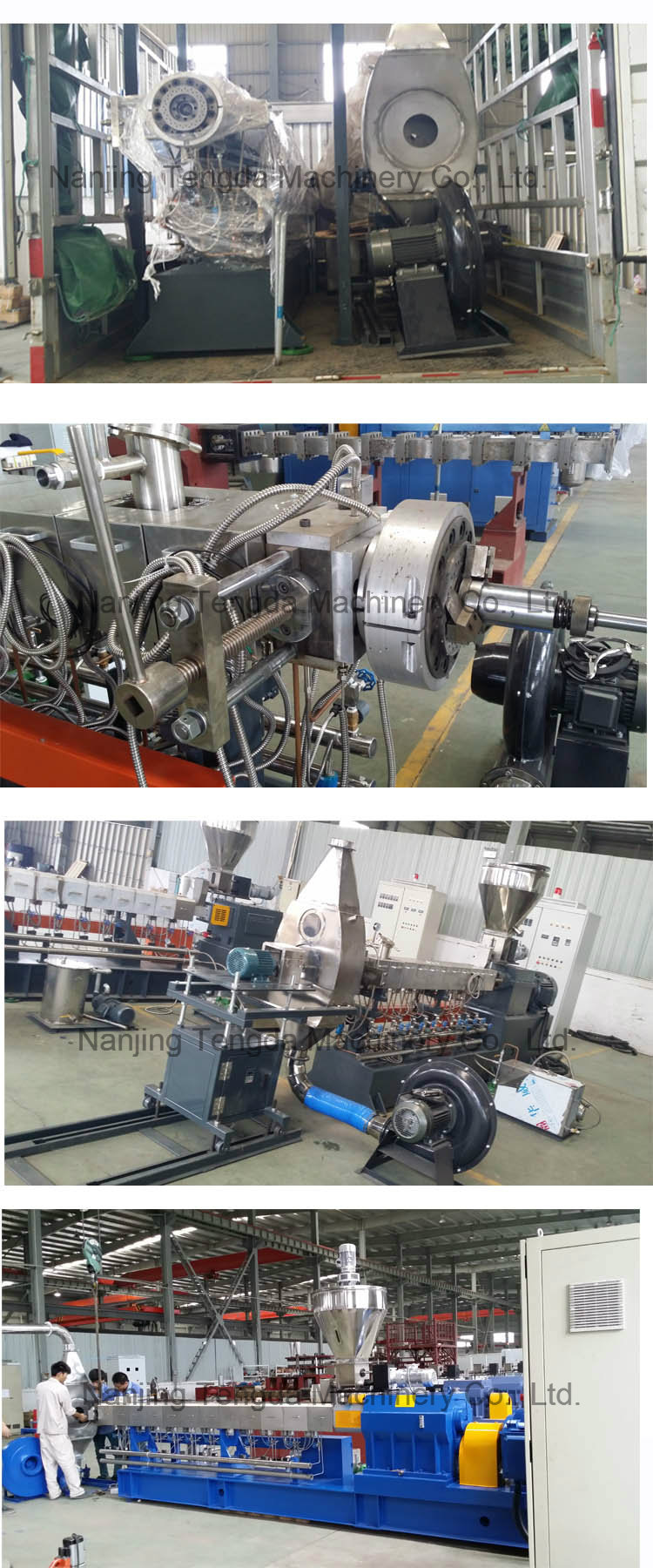 Wear Resistance Different Type Screw Extruder