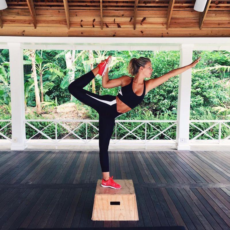 Black Sportwear Yoga Pants Leggings (3031)