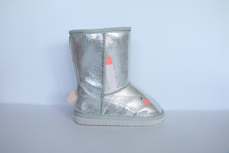 Children's High Boots with Print