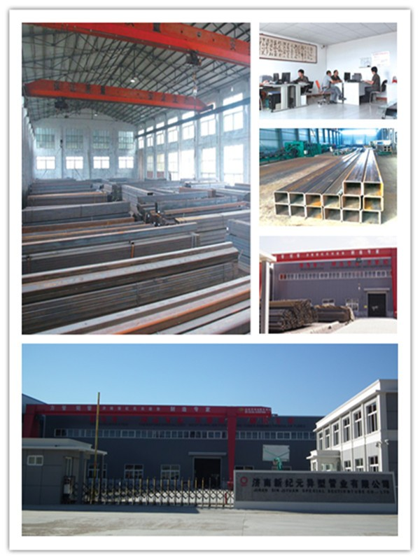 Astm A36 Rectangular Steel Tube