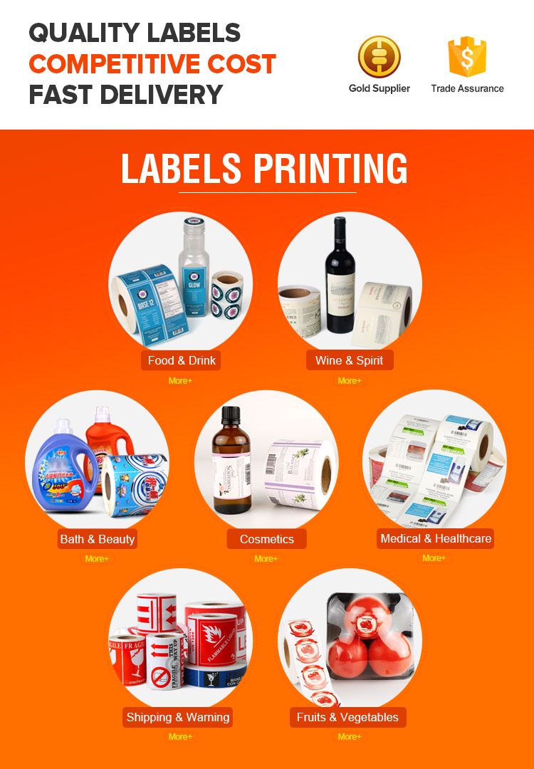 Bottle Label Printing